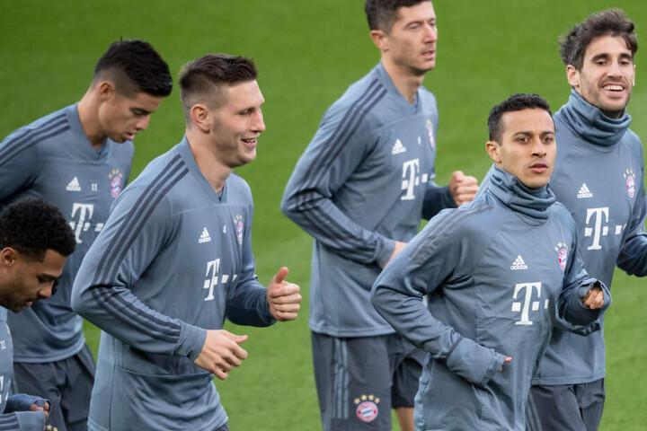 Wer spielt, wer nicht? Nicht jeder Akteur des FC Bayern München ist aktuell auch zufrieden.