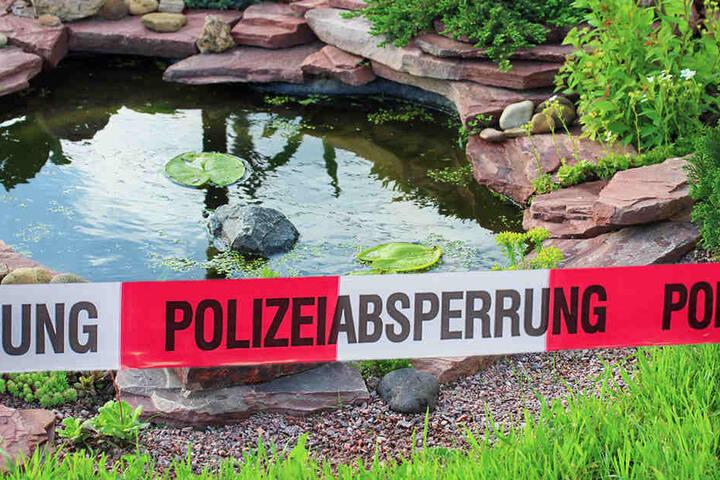 In seinem eigenen Gartenteich wurde ein 89-jähriger Mann in Finsterwalde tot aufgefunden. (Symbolbild)