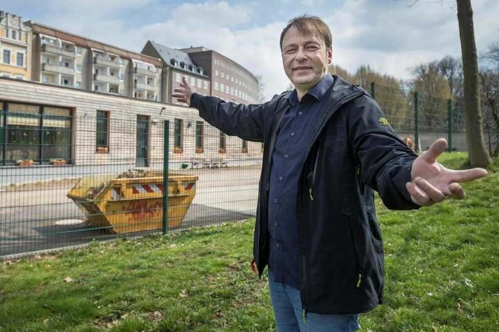 Thomas Lehmann (50, Grüne) wünscht sich offene Bäche in der ganzen Stadt.