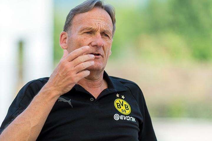 Fünf Jahre hat Hans-Joachim Watzke an der Uni Paderborn studiert.