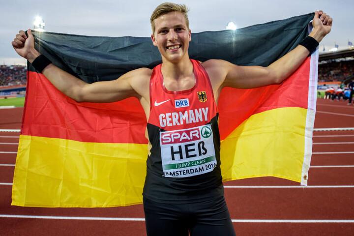 Mit drei Riesensätzen ist Max Heß dieses Jahr an die Spitze Europas gesprungen.