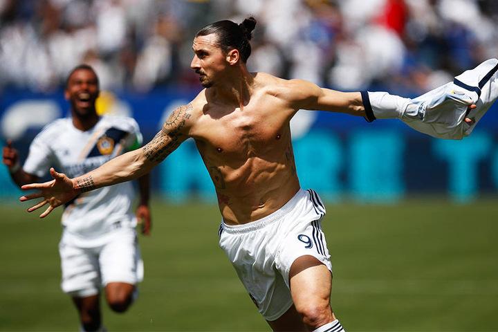 Verdient gerade mal ein Viertel von Schweinsteiger: Superstar Zlatan Ibrahimovic.