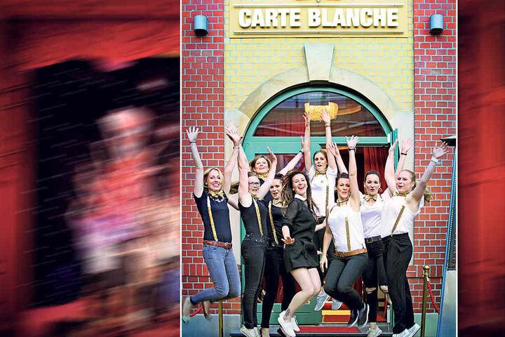 """Vier Mädelgruppen lassen es vor der Hochzeit im """"Carte Blanche"""" krachen."""