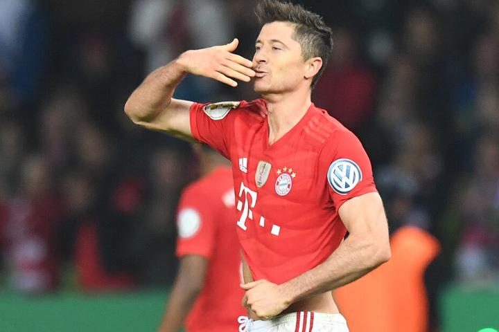 Robert Lewandowski hat hinsichtlich eines Transferziels des FC Bayern München klare Vorstellungen.