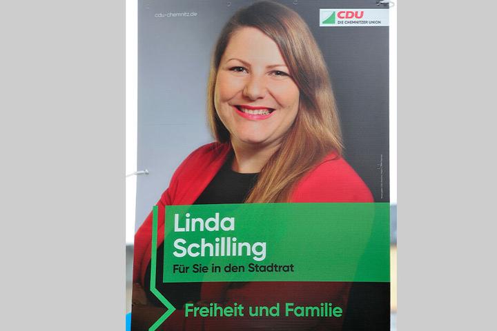 CDU-Plakate werben neuerdings mit ganz viel Grün.