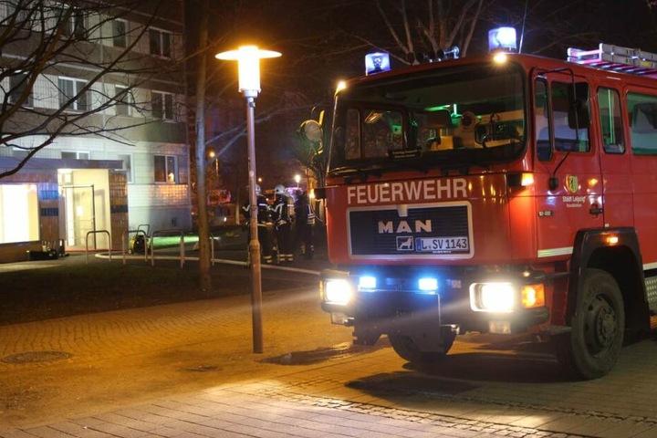 Immer wieder werden in Leipzig-Grünau Mehrfamilienhäuser angezündet.