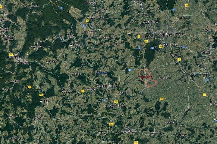 Der 75-Jährige war auf seinem Anwesen im unterfränkischen Kirchheim mit privaten Arbeiten beschäftigt.
