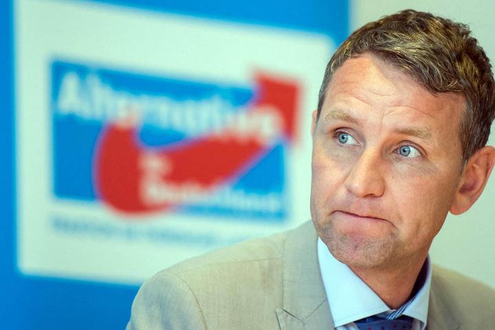 Björn Höcke äußerte sich bisher noch nicht zu der Aktion.