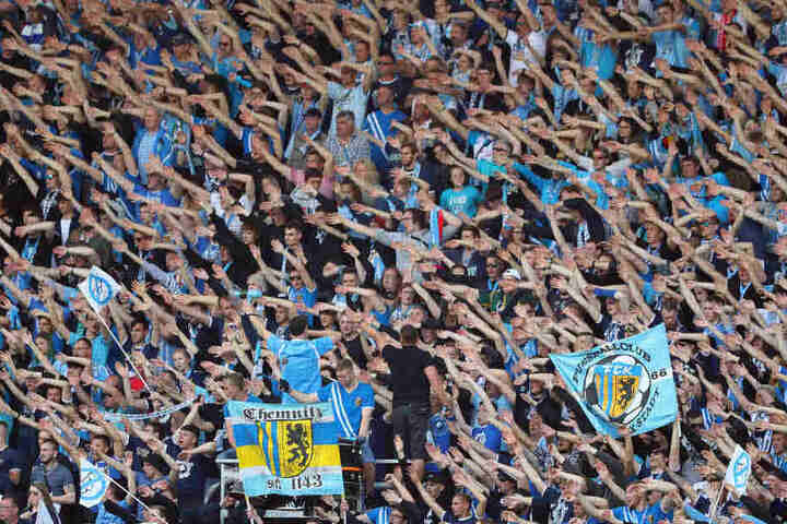 Am Samstag können die Fans mit den Himmelblauen feiern.