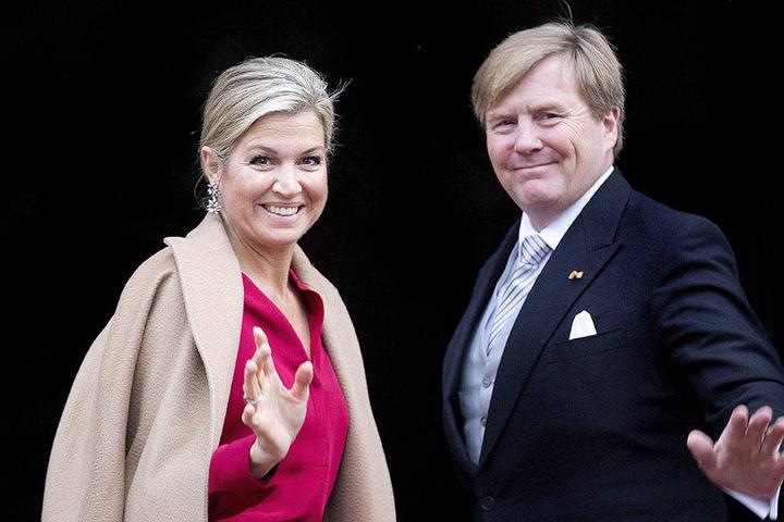 Máxima und ihr Willem Alexander.