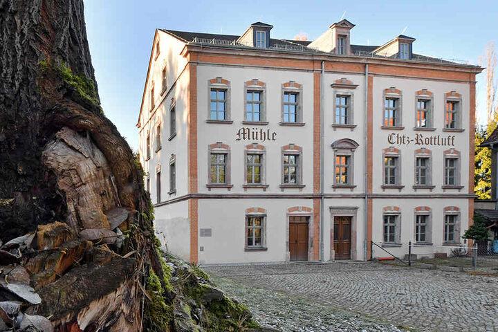 Das Elternhaus des Expressionisten steht am Rand des Chemnitzer Stadtteils Rottluff.