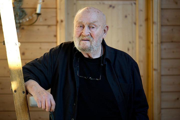 """Rolf Hoppe (†87) wurde das Vorbild für seinen """"königlichen Sohn""""."""