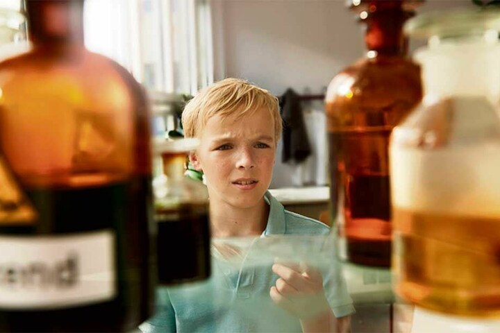 Tilman Döbler (12) spielt Alfons Zitterbacke.
