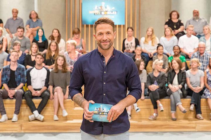 "Florian Ambrosius (43) moderiert die RTL-Show ""Hol dir die Kohle""."