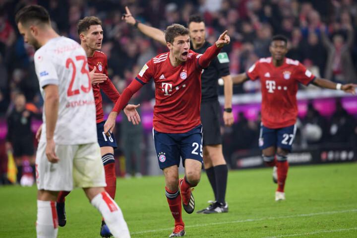 Thomas Müllers Doppelpack reichte nur für ein Remis.