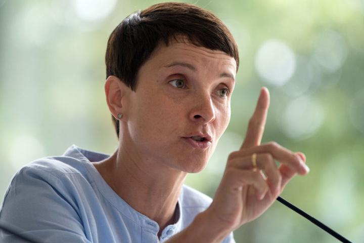 Die AfD streitet sich mit Frauke Petry (43) vor dem Münchner Gericht.