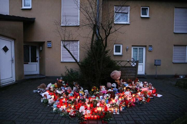 Anwohner trauern um das neunjährige Opfer.