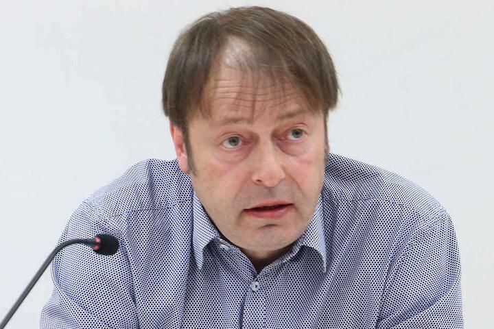 Grünen-Stadtrat Thomas Lehmann (48).
