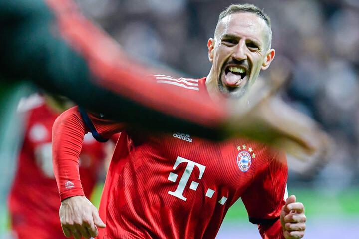 Franck Ribéry avancierte im Duell mit Eintracht Frankfurt zum Matchwinner für den FC Bayern.