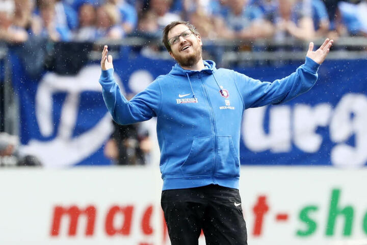 Hannes Drews haderte in Darmstadt nicht nur einmal. Jetzt liegt sein Fokus auf der Relegation. Dort will er mit seinen Jungs die Klasse halten.