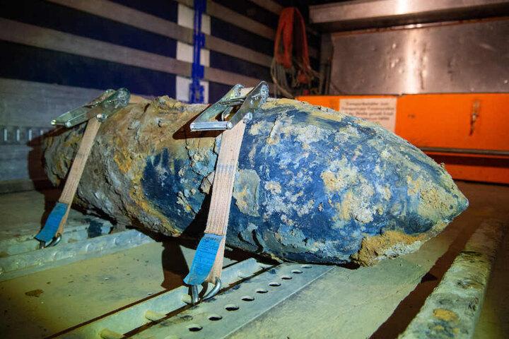 Die Bombe wiegt 250 Kilogramm. (Symbolbild)