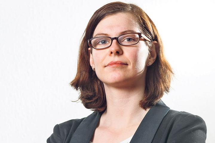 Linke-Stadträtin Sabine Pester (32) fordert die Verwaltung zu mehr  Transparenz auf.