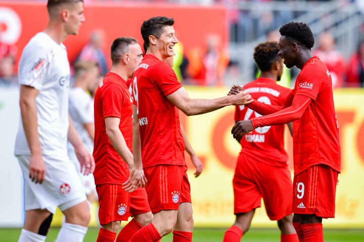 Der Pole spielt seit dem Sommer 2014 sehr erfolgreich für die Bayern.
