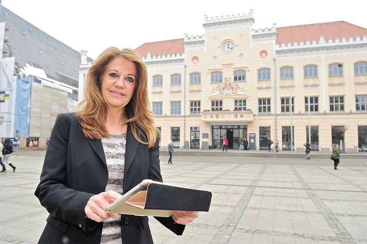 """Birgit Zander (55) ist die Chefin des """"Festival of Lights"""", wird Zwickau in der ersten Mai-Woche spektakulär erleuchten lassen."""