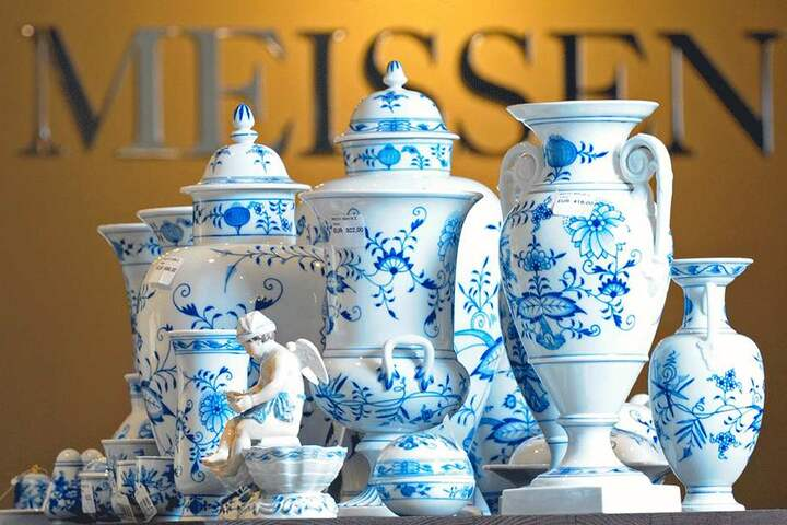 Ob Zwiebelmuster, Wellenspiel oder Cosmopolitan - ihr edles Tafelgeschirr würde die Porzellanmanufaktur Meissen gern auf dem Neumarkt präsentieren.
