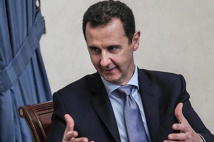 Eine gewagte These des syrischen Staatsoberhauptes Baschar al-Assad.