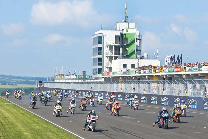Mit dem ADAC Sachsenring Classic feierte der Sachsenring seinen 90.  Geburtstag.