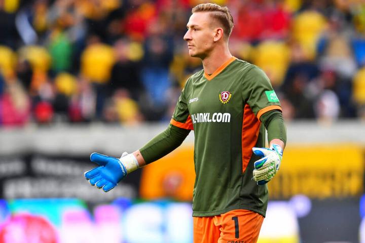 Kevin Broll ist der einzige Dynamo-Kicker, dessen Form seit Wochen ansteigt.