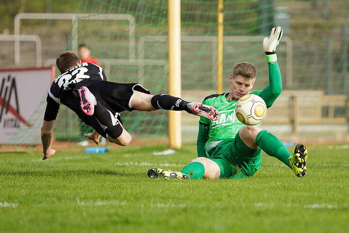 Heißer Kandidat für die neue Nummer 1: Jakub Jakubov (r.) vom Berliner AK.