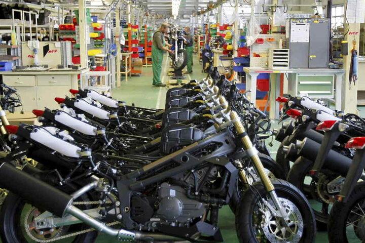 Das Motorenwerk Zschopau (MZ) gehörte zu den größten Motorradherstellern der Welt.