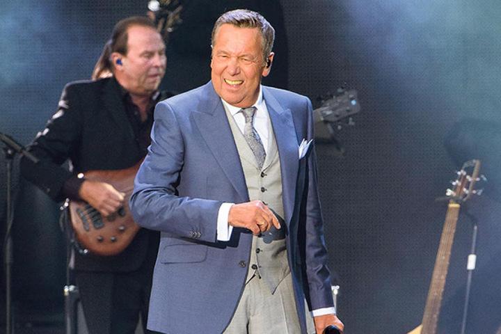 Roland Kaiser (65) spielt zum ersten Mal auf dem Chemnitzer  Hartmannplatz.