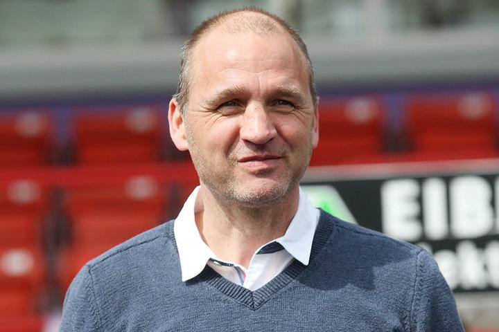 In den 80er Jahren trug Steffen Ziffert bereits das Trikot des Clubs, für den er jetzt als Vorstand arbeitet.