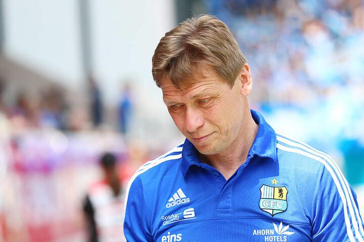 CFC-Trainer Sven Köhler lobte die Moral seiner Jungs, seine eigene Lage verschlechtert sich durch die Niederlage aber wohl weiter.