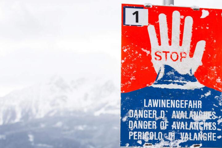 Im Allgäu herrscht aktuell in Bayern ab 2000 Metern eine erhebliche Lawinengefahr. (Symbolbild)