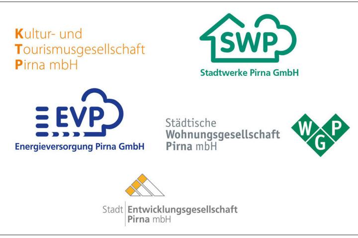 Das sind die Sponsoren der Weihnachtskampagne der Stadt Pirna.