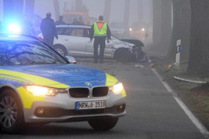 Die Frau wurde schwer verletzt ins Krankenhaus gebracht.