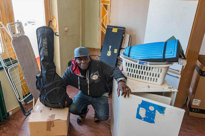 Auch Bewohner Roberto Vitorino Guianhela (52) hat noch keine neue Wohnung gefunden.
