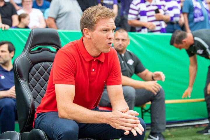 RB Leipzigs Trainer Julian Nagelsmann erwartet eine aufgeheizte und auch aggressive Stimmung in der Alten Försterei.