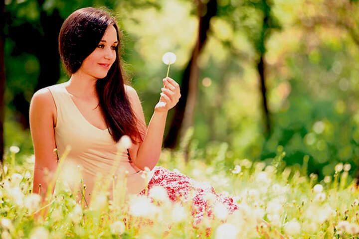 Bei schönem Wetter schwirren die Schirmchen der Pusteblumen besonders durch  die Luft - nicht zur Freude von Allergikern.