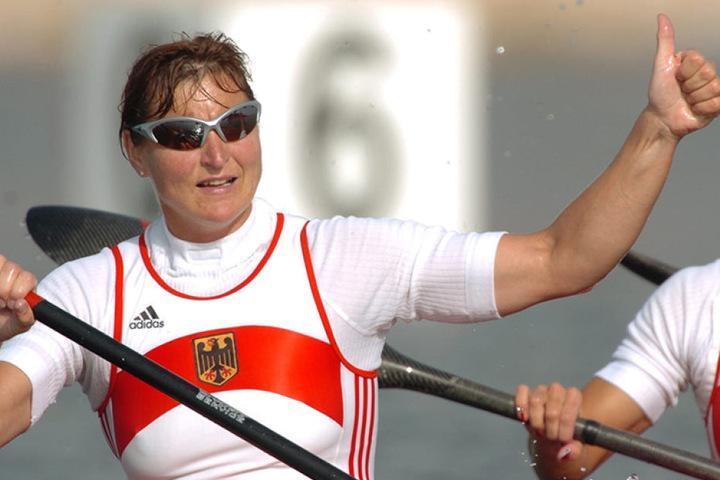 Kanutin Birgit Fischer ist Deutschlands erfolgreichste Olympionikin.