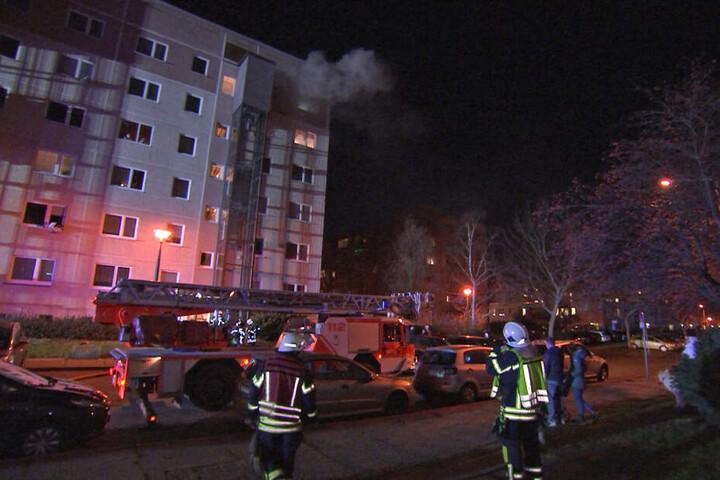 Die betroffene 1-Raum-Wohnung befindet sich in der obersten Etage.