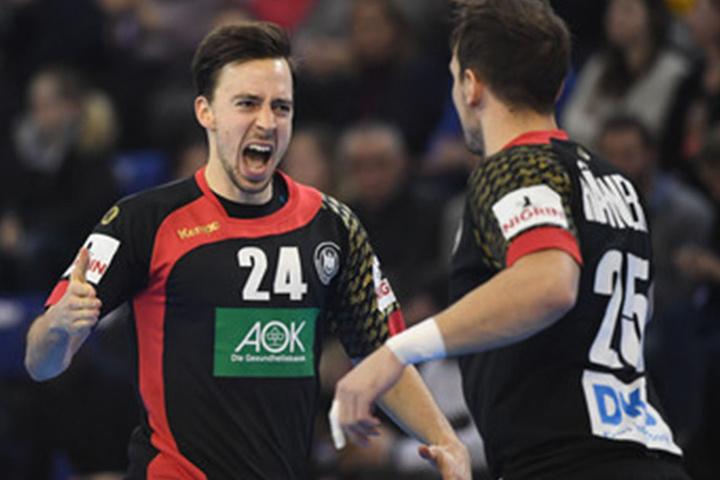 Die Handballer hatten wie jedes Spiel bei der WM bisher Grund zum Jubeln.