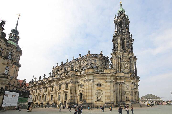 Beim Versuch die Hofkirche zu beklauen, war für den gelernten Koch Schluss.