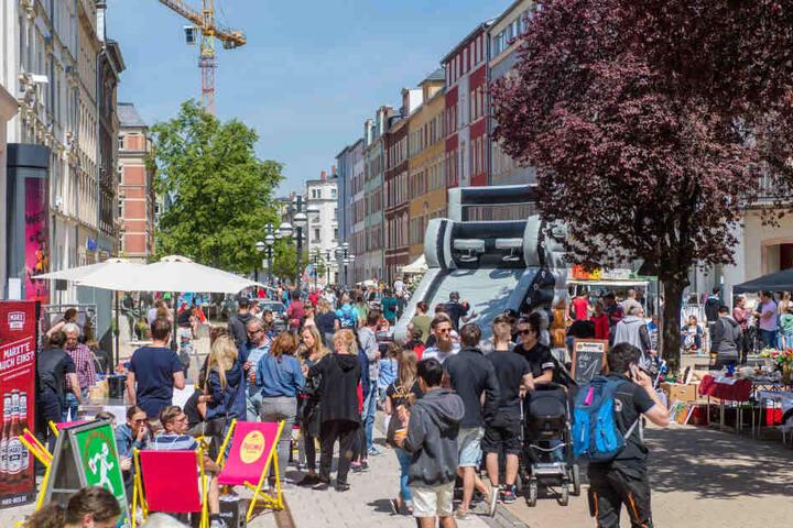 """Zum """"Brühlfest"""" präsentiert sich das Viertel von 11 bis 18 Uhr seinen Besuchern."""