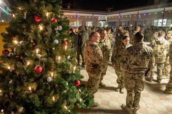 Alle Jahre wieder müssen Bundeswehrsoldaten das Weihnachtsfest in der Fremde verbringen.