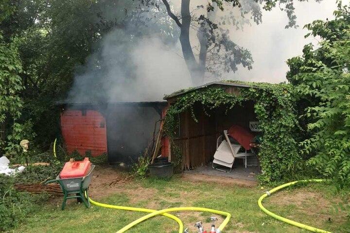 Die Feuerwehr konnte die Gefahr stoppen.